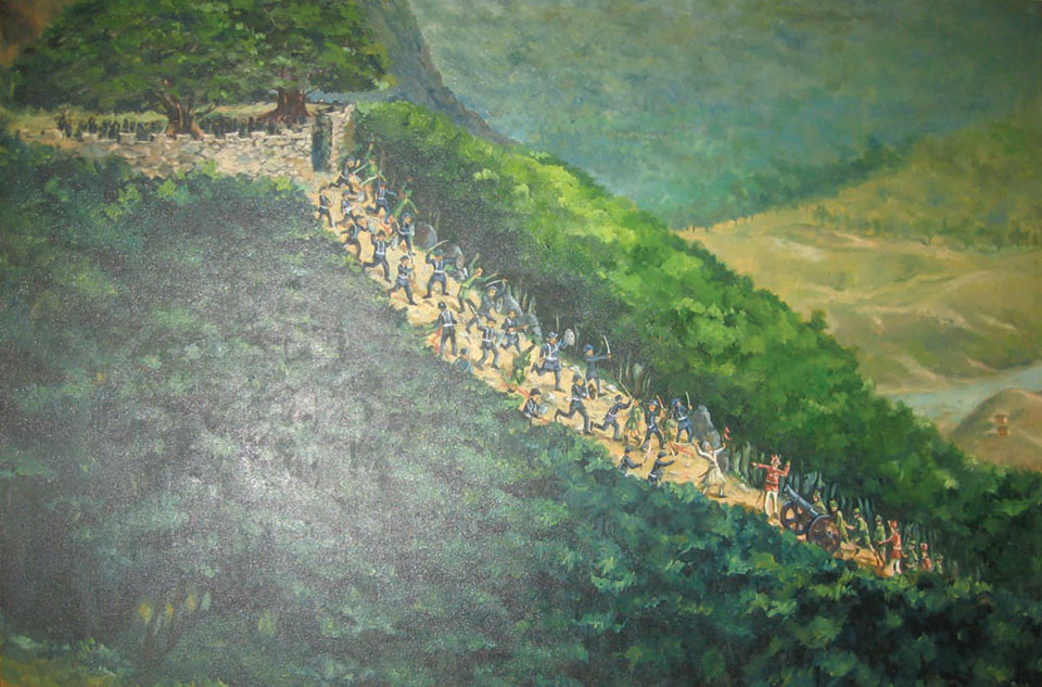 The battle of Sindhuli