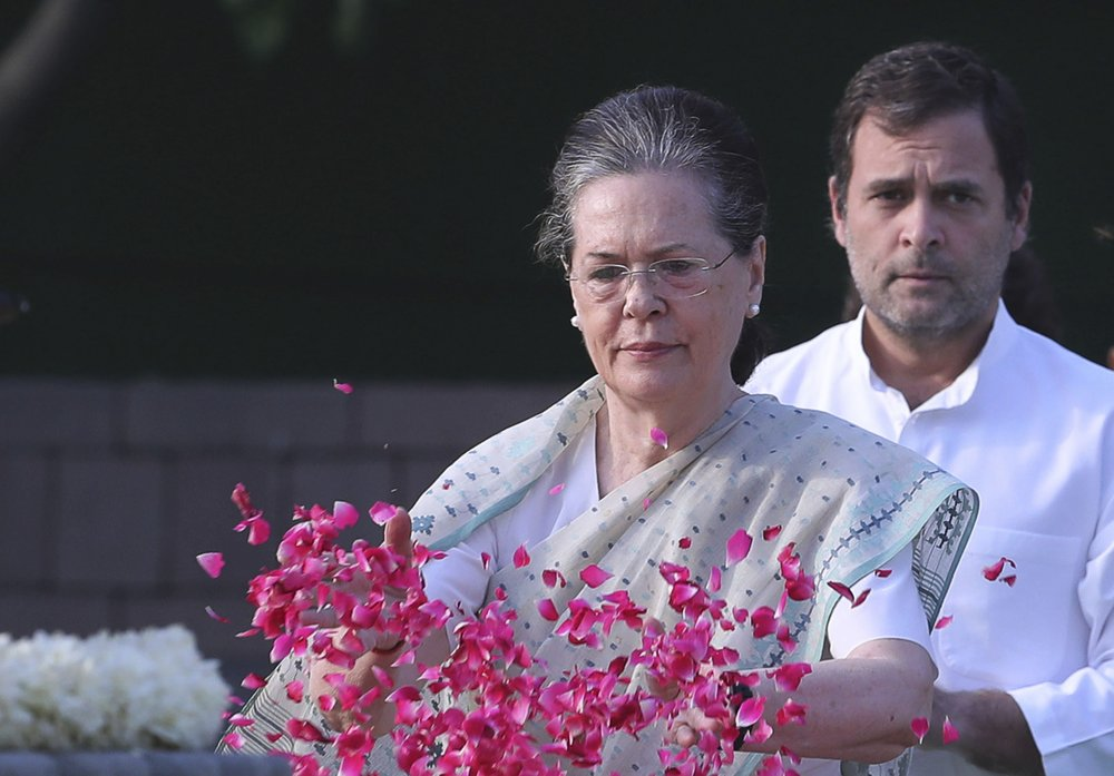 India's main opposition Congress party in throes of crisis