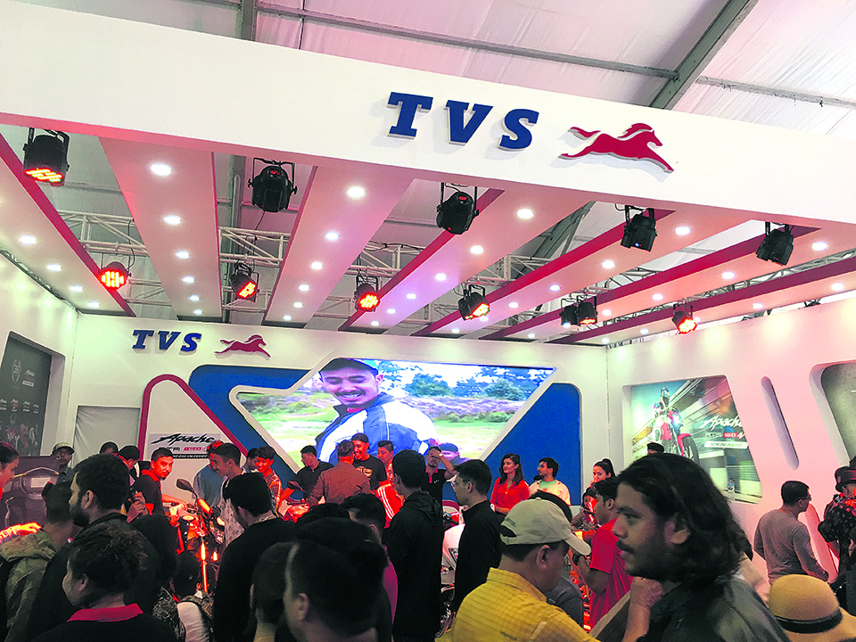 TVS rolls out Apache RTR160 in Nepal