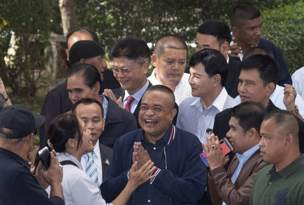Thai court acquits Red Shirts of terrorism for 2010 protests