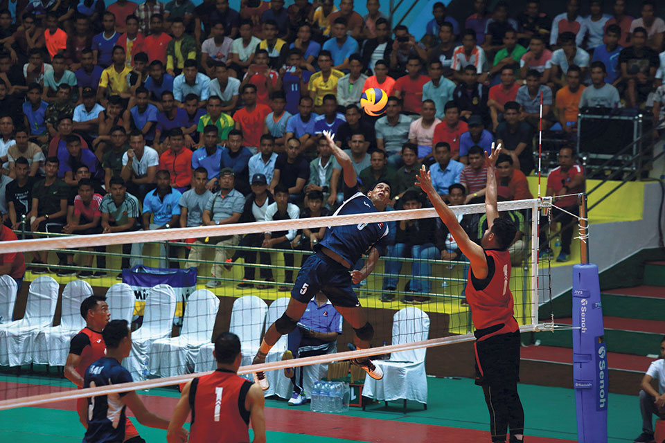 Nepal eyes final spot in Asian volleyball