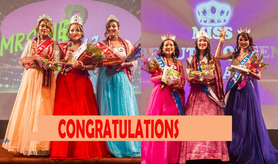 'Beauty Queen' and 'Mrs Nepal Idol' winners announced