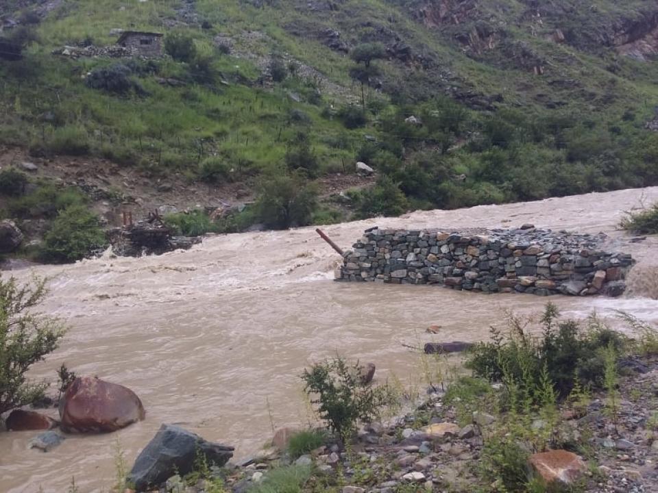 Way to Phoksundo disrupted as bridge swept way