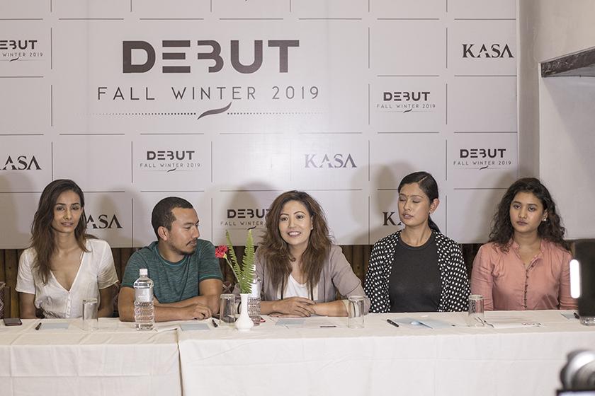 'Debut 2019', international fashion show at Patan Durbar Museum