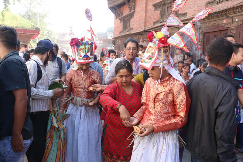 Celebrating Gaijatra