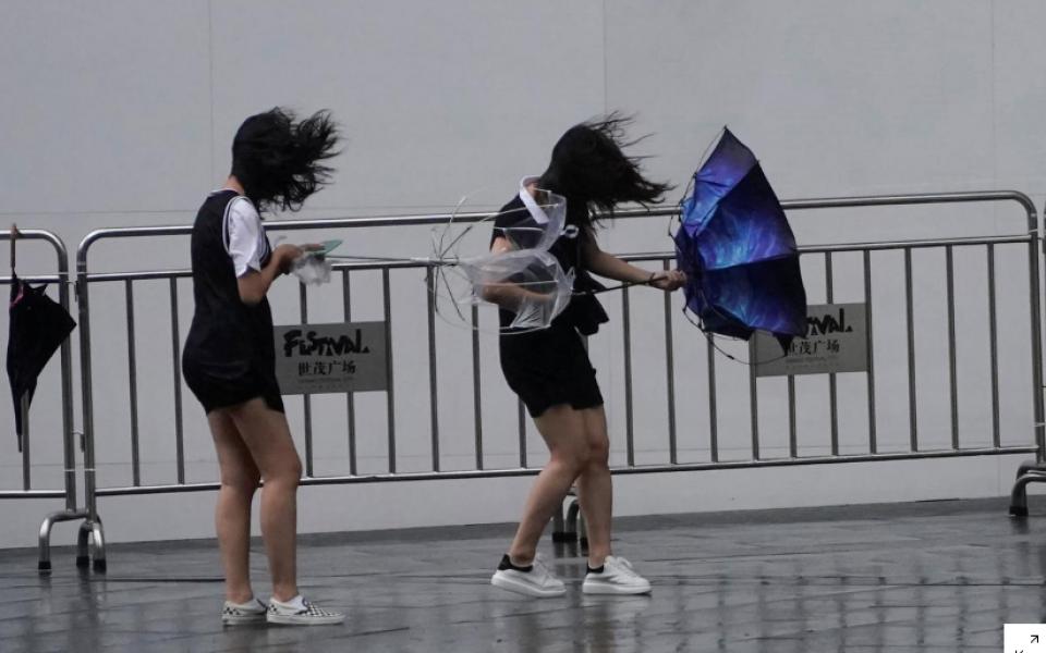 Typhoon in eastern China causes landslide, killing 13 people