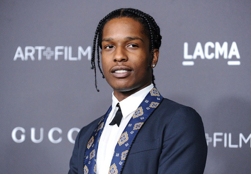 A$AP Rocky attends Kanye West's Sunday service after release from jail