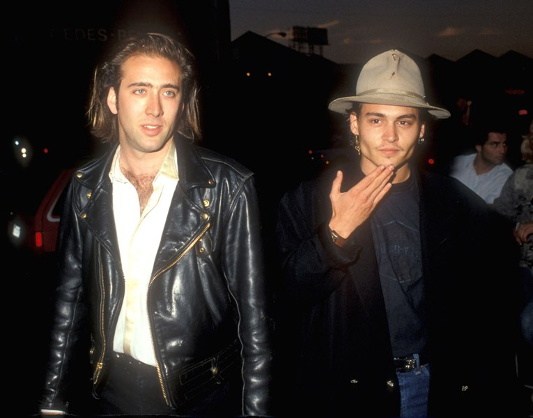 Nicolas Cage claims he convinced Johnny Depp to act