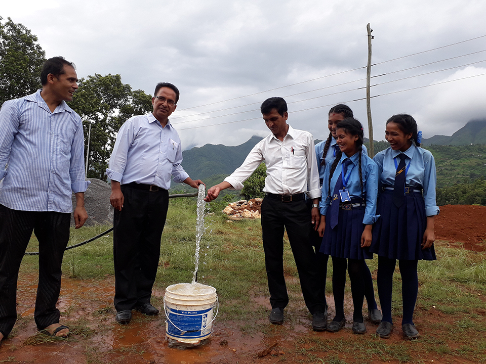 Locals, school students get access to drinking water