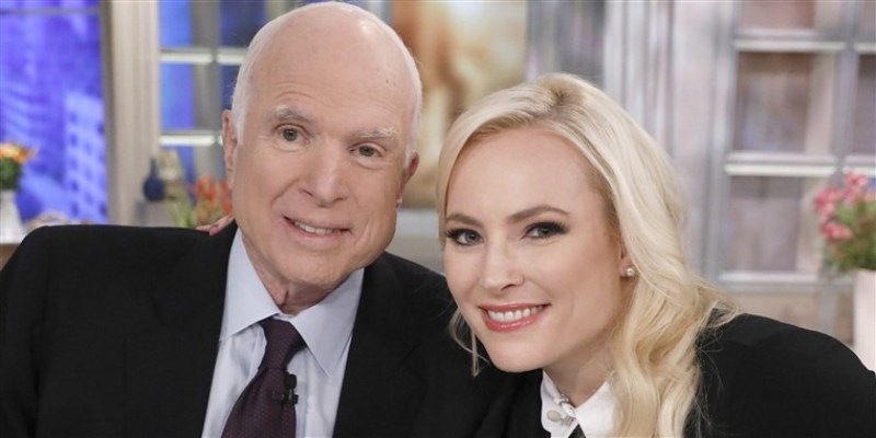 Meghan McCain remembers father on his death anniversary