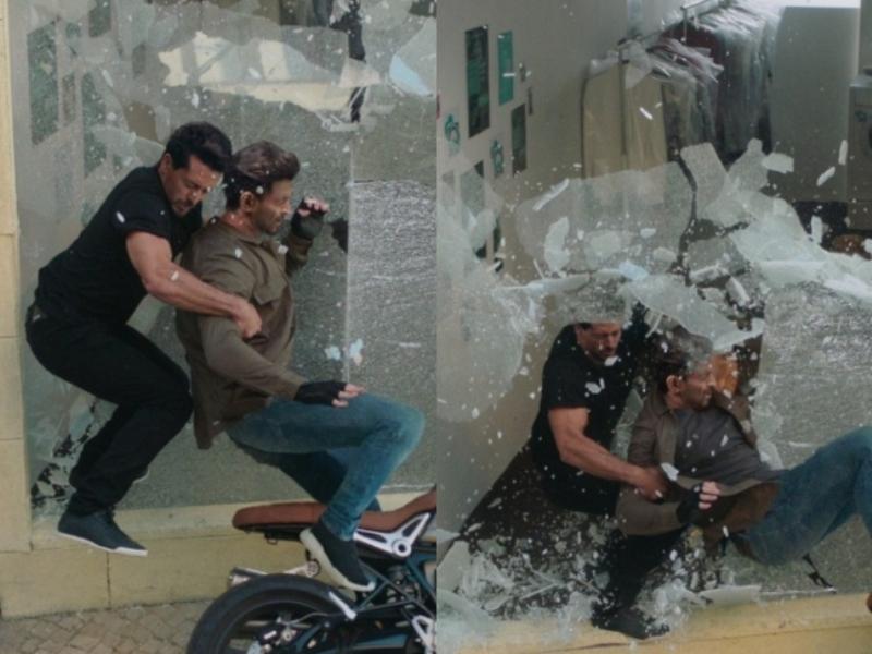 Hrithik Roshan, Tiger Shroff pull off deadly bike stunt in 'WAR'