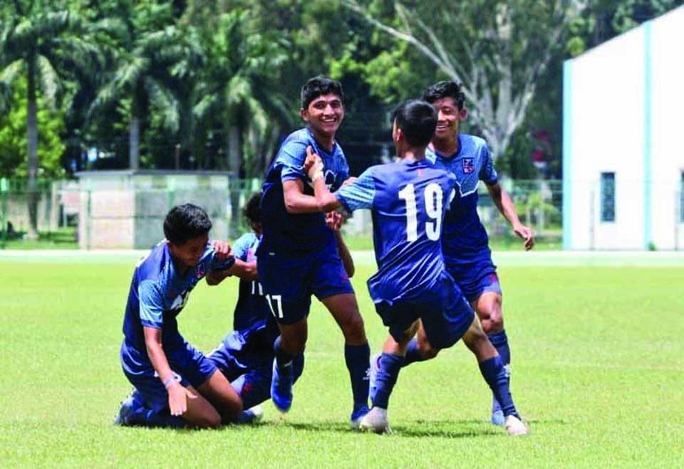 Nepal trounces Bhutan 6-0, to face India in final