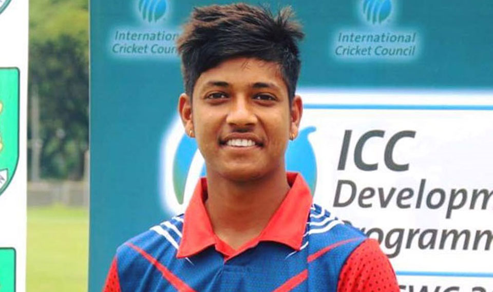 US Embassy rejects visa application of cricketer Sandeep Lamichhane