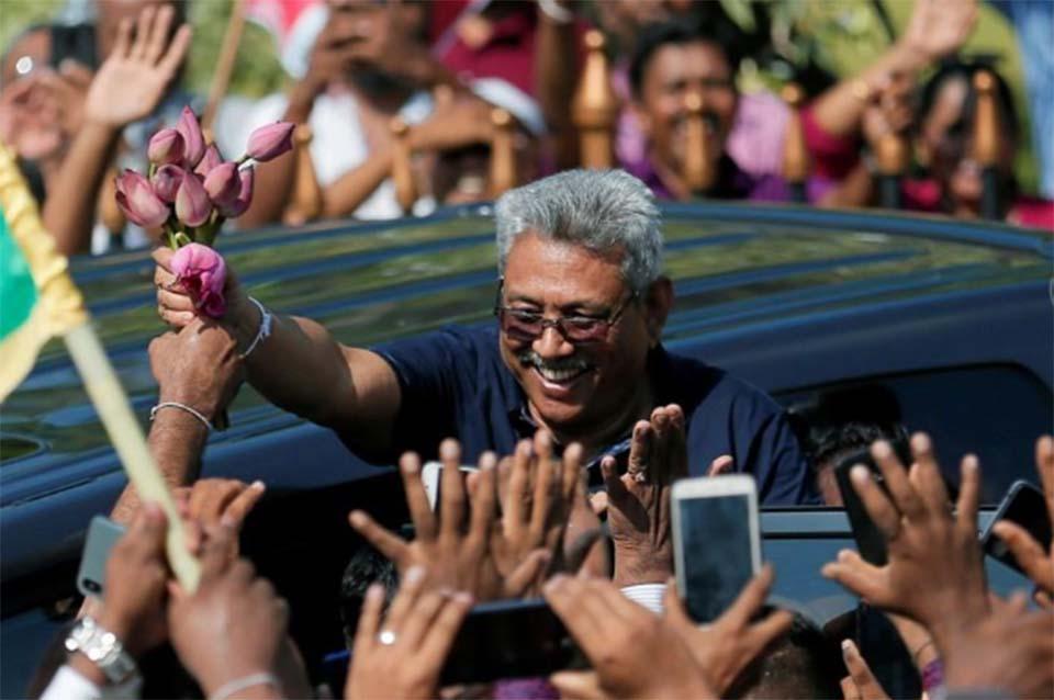 Many Sri Lankans want a strongman leader, and that favors Gotabaya Rajapaksa