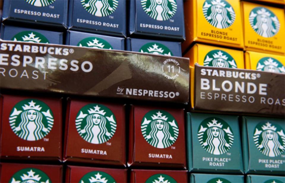 Nestle starts selling Starbucks-branded coffee in China