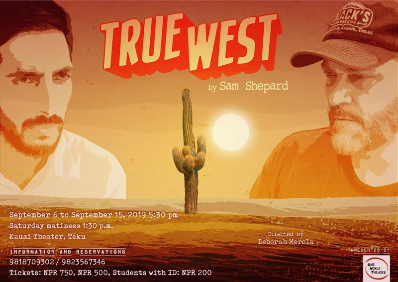 'True West' by Sam Shepard premiers on Friday