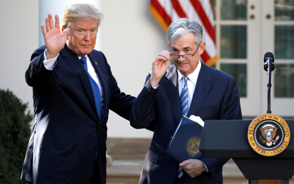 Trump says he wouldn't stop Fed Chair Powell if he offered to resign