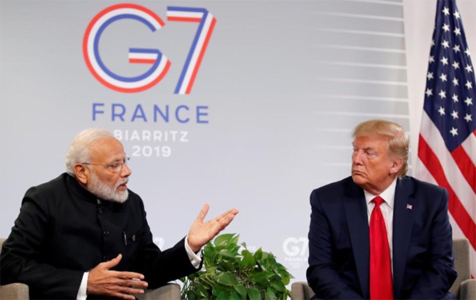 Trump says India, Pakistan can handle Kashmir dispute on their own