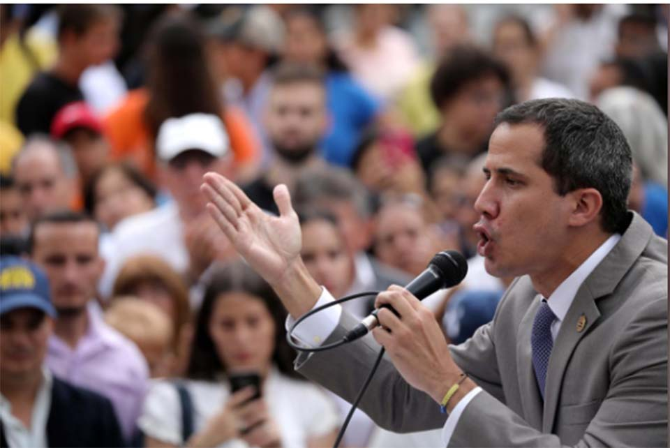 Venezuela's Guaido says government plans to dissolve opposition-run legislature