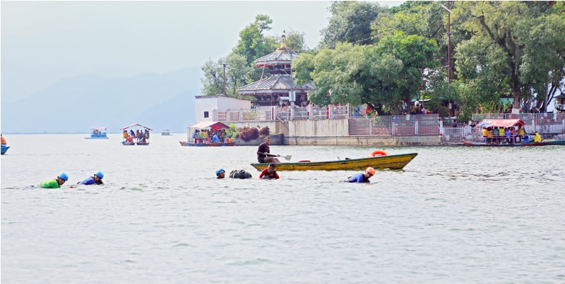 Pokhara aspiring as a water sports destination