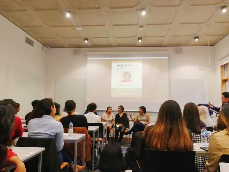 'Women in Nepali Society: Talk with Subina Shrestha' in London