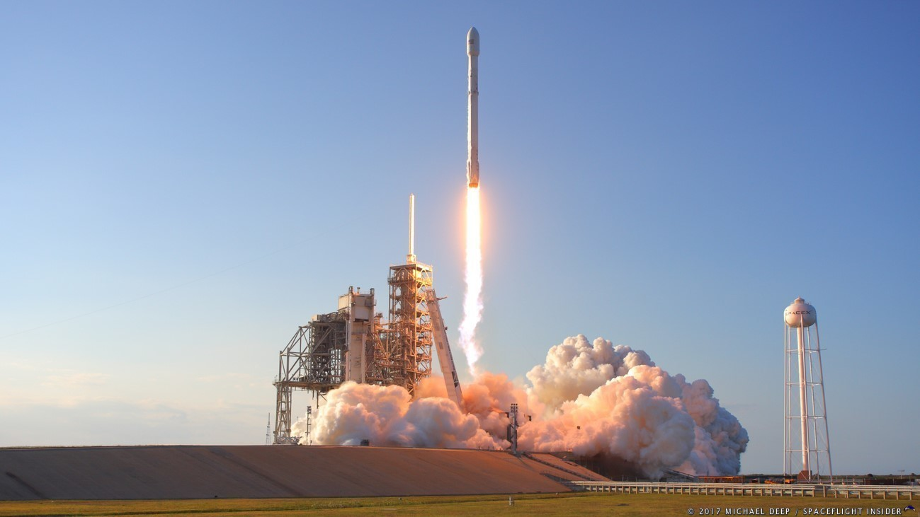 SpaceX rocket with unmanned U.S. capsule blasts off for space station