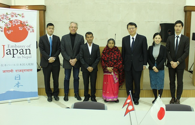 Japan Supports Upgrading the Women's Handicraft and Mithila Art Center in Janakpur