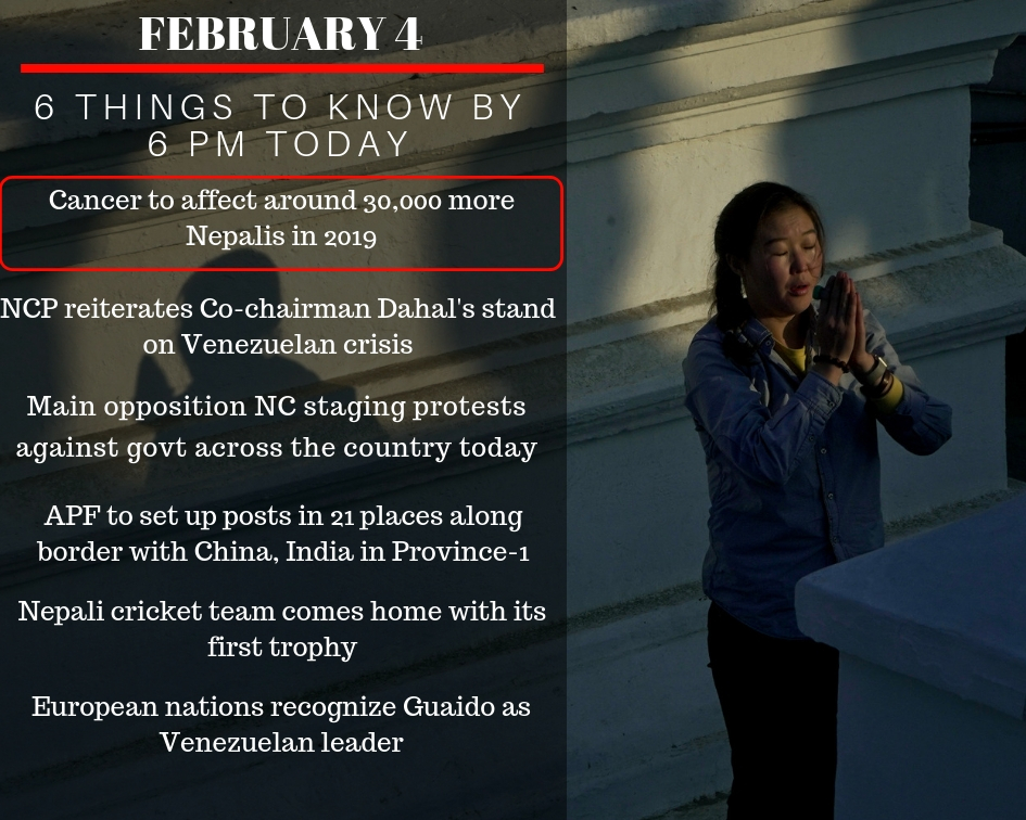 FEB 4: 6 things to know by 6 PM today