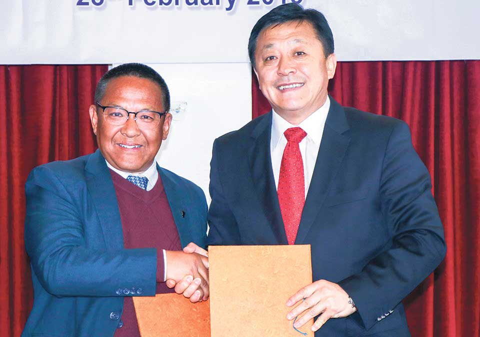 ANFA, Chinese Football Association sign deals for four years