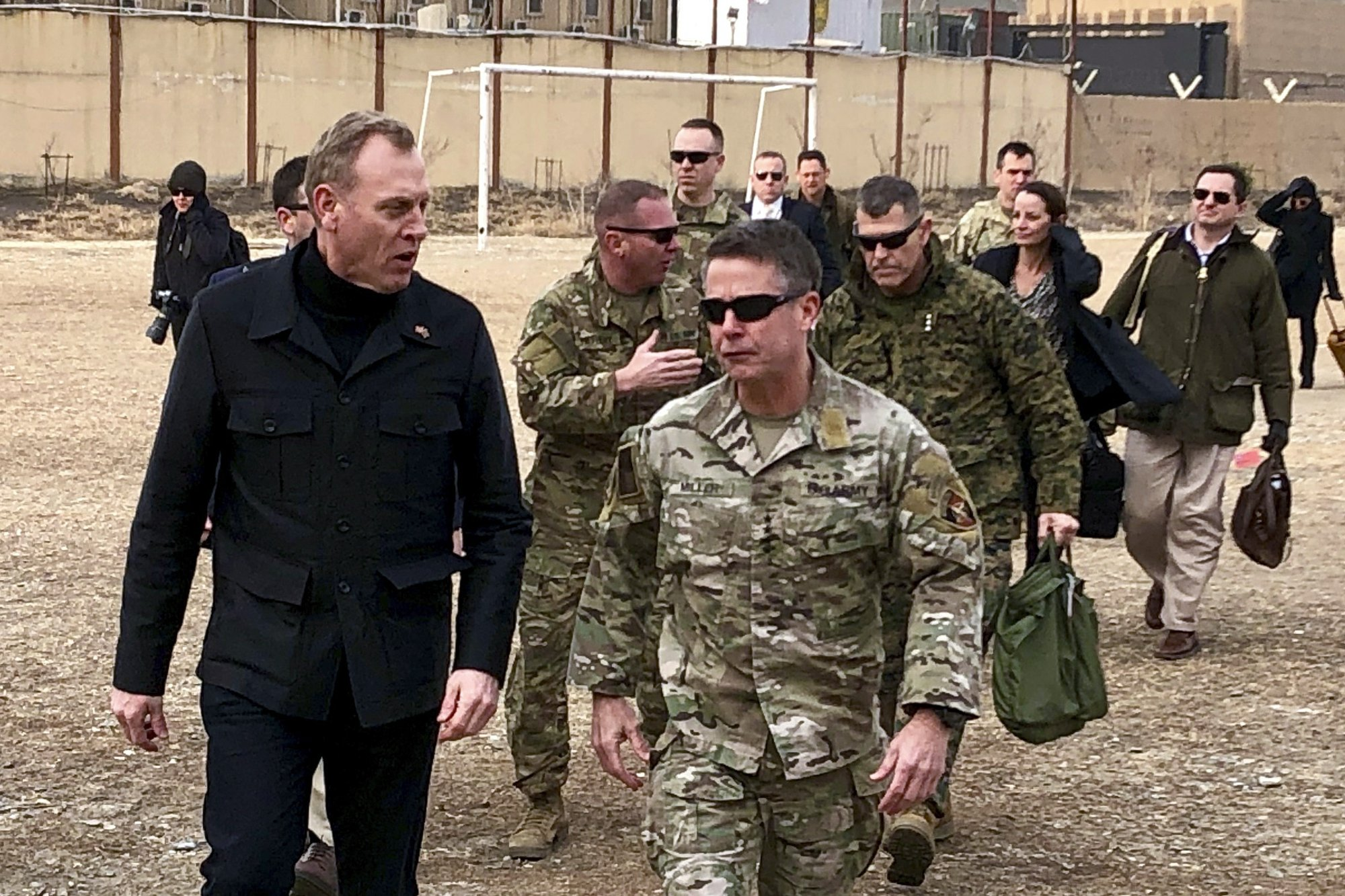 Top Pentagon official in Afghanistan amid push for peace