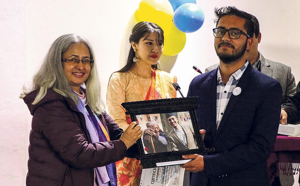 Joshi wins Apex Smile Festival award