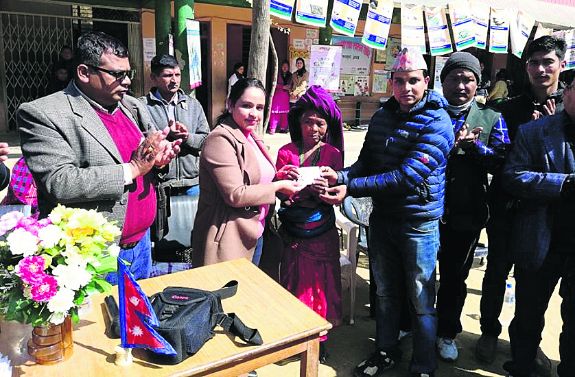 Chepang women delighted to acquire citizenship at 70