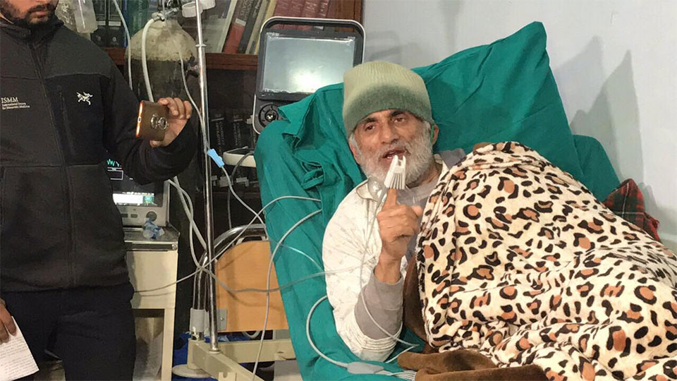 Dr KC ends his 24-day-long hunger strike