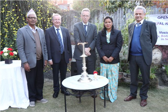 Opening of Nepal Research Bhavan