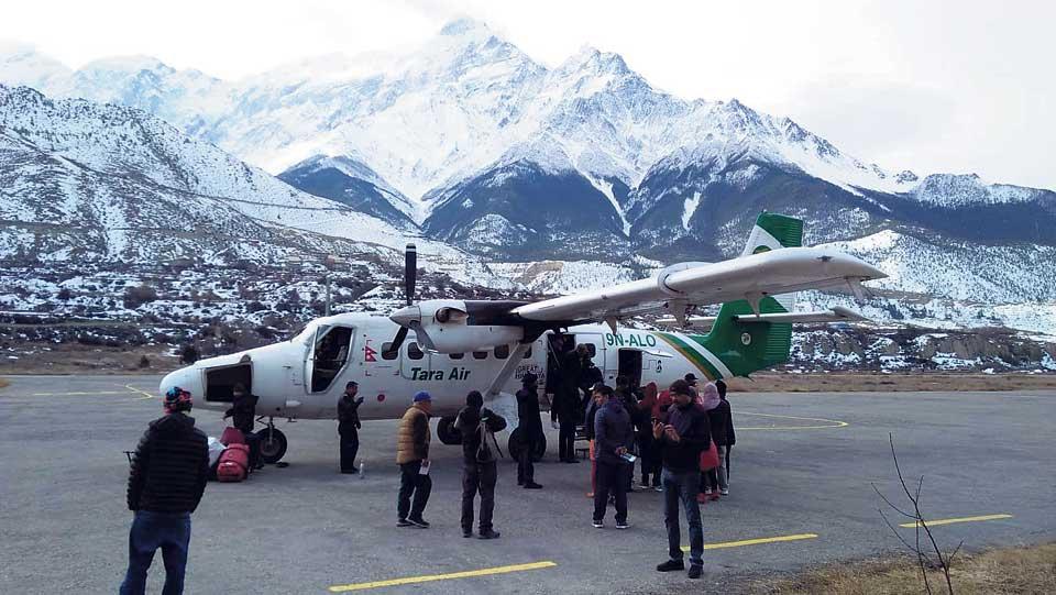 Pokhara-Jomsom flights resume after a week