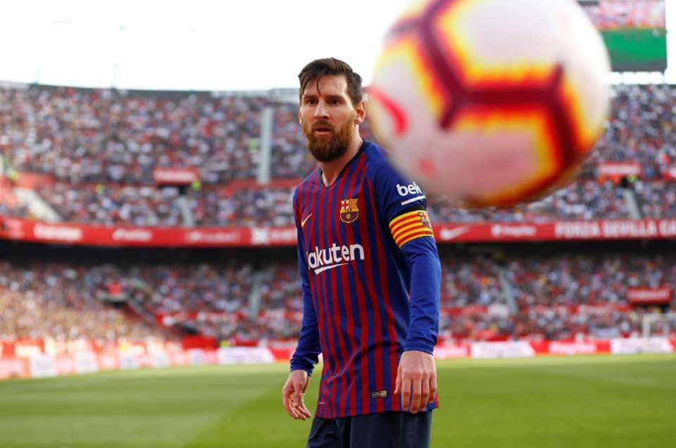 Three-goal Messi says Barca back to their best