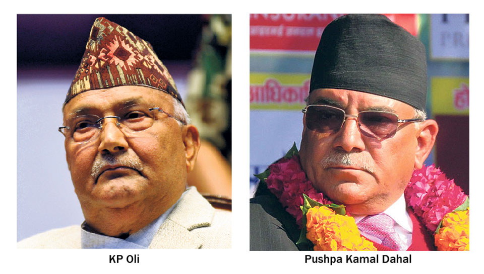 Oli, Dahal hold a number of meetings to build mutual trust