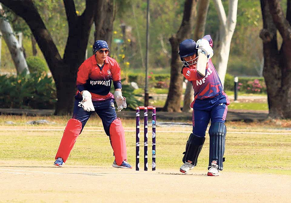 Nepal fails to make it to Global Qualifiers despite Chhetry's all-round performance