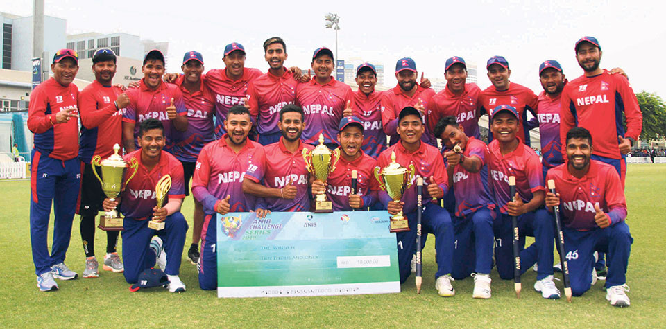 Nepal completes historic clean-sweep; wins T20I series after ODI series triumph