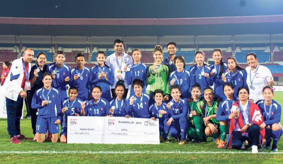 Myanmar defeats Nepal to lift Hero Women's Gold Cup