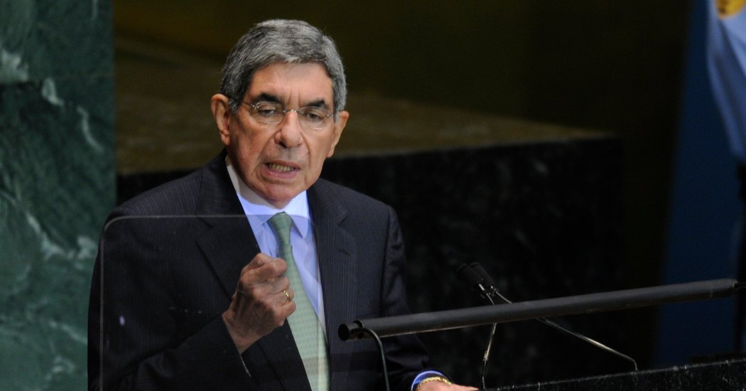 Former Costa Rican President Oscar Arias accused of sexual assault