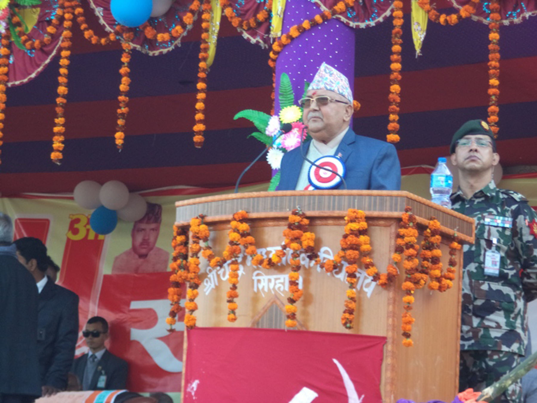 Incumbent govt fulfills dream of prosperity: PM Oli