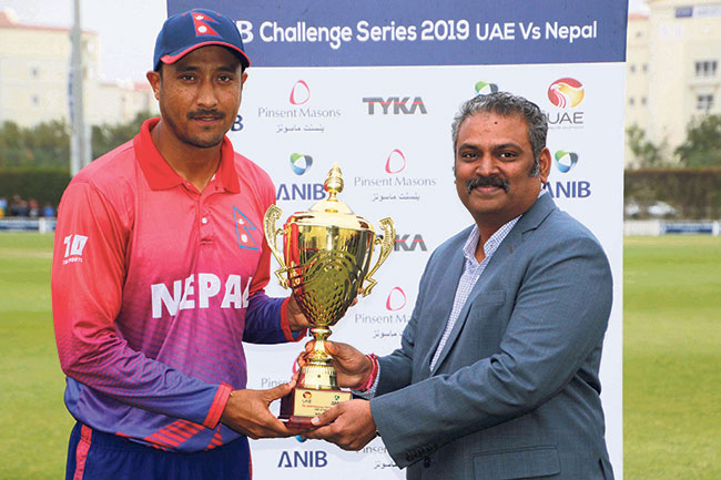 Nepali cricketers climb up in ICC rankings