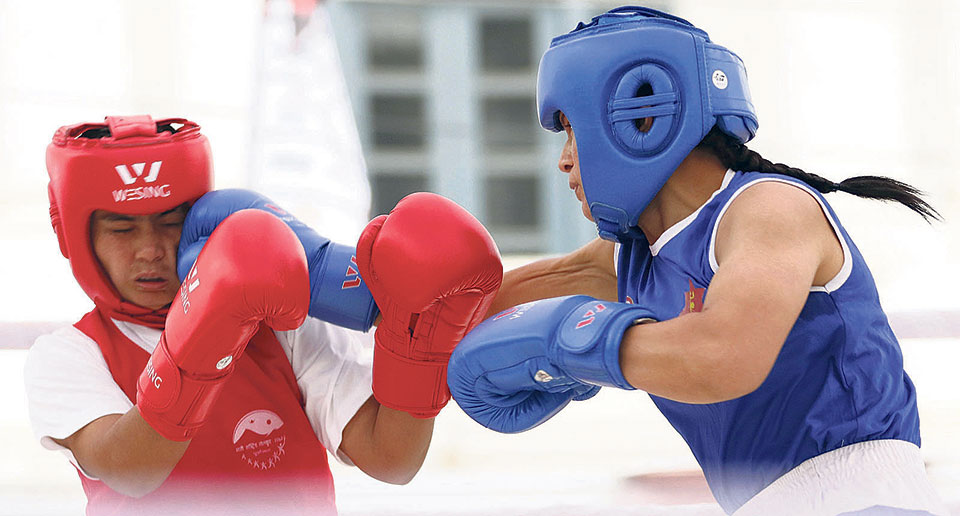 Thapa, Magar to fight for women's boxing title
