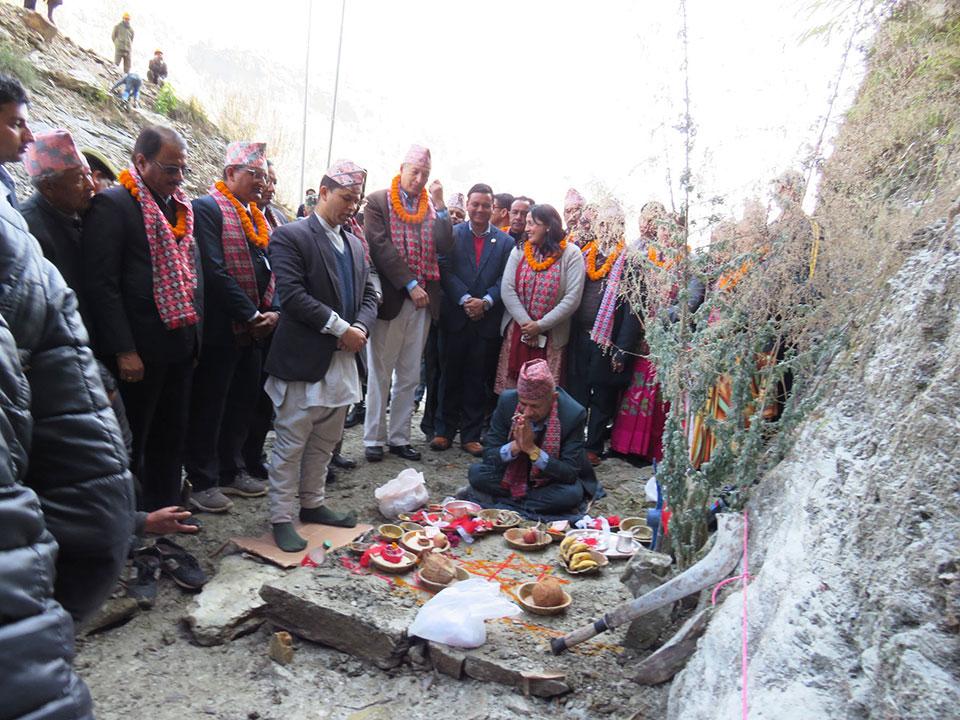 Kaligandaki corridor brightens Nepalis' fortune: Minister Gyawali