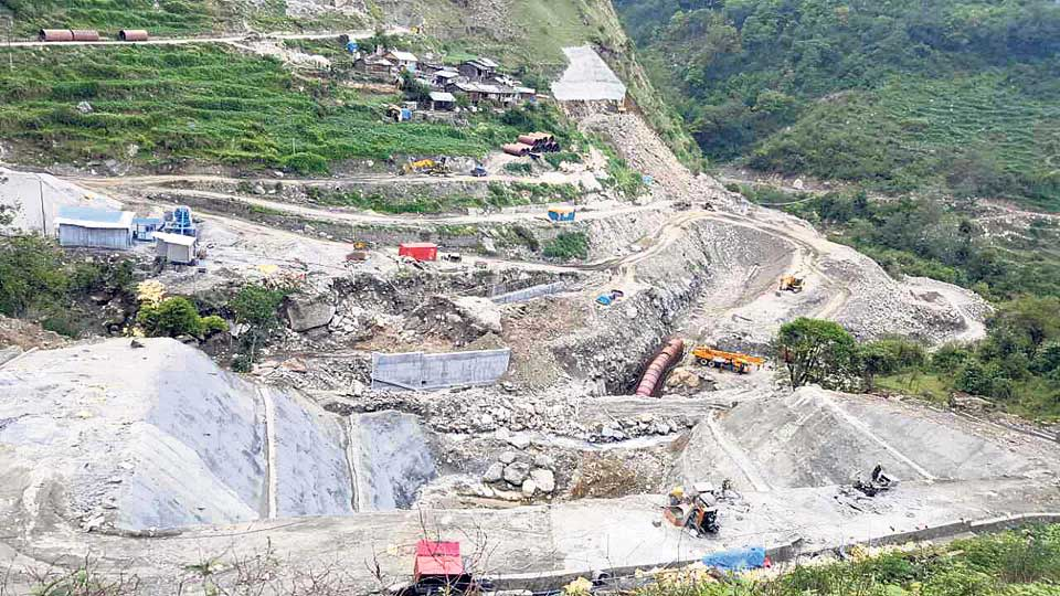 80 percent work at Upper Sanjen project complete