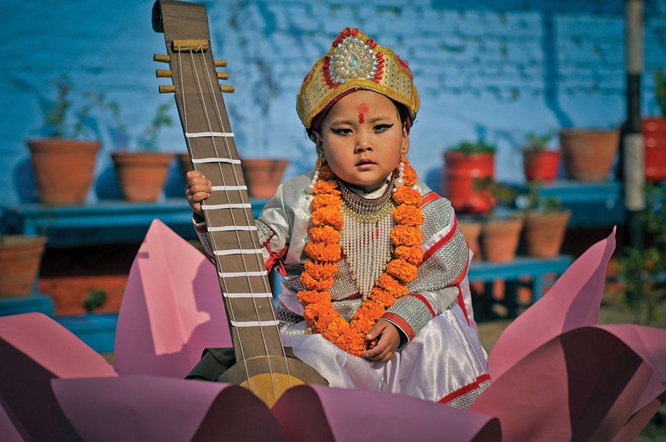 Those Saraswati pujas