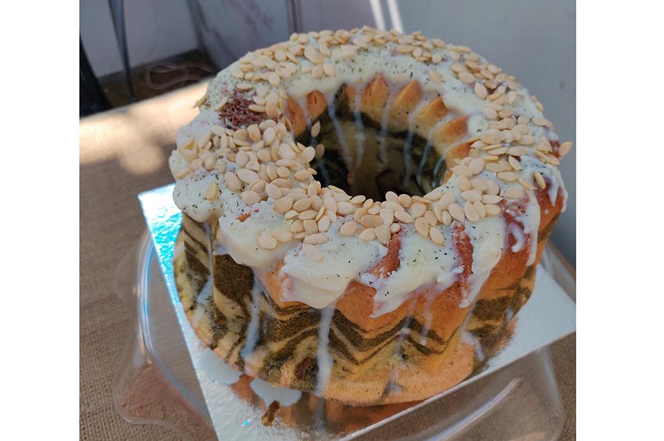Nettle cake steals thunder at food festival