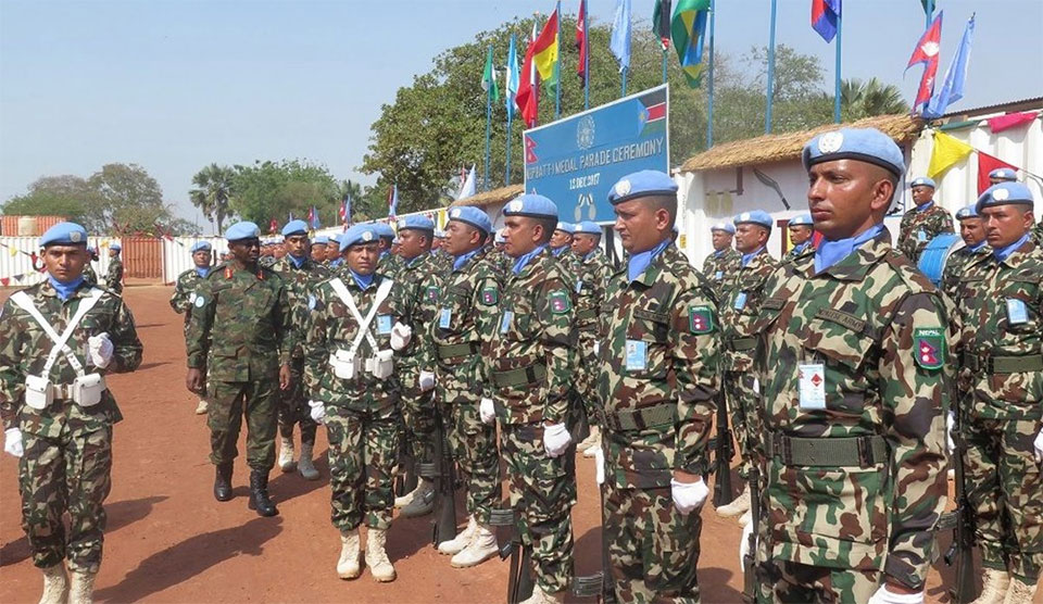 Over 125,000 Nepali peacekeepers served United Nations  so far
