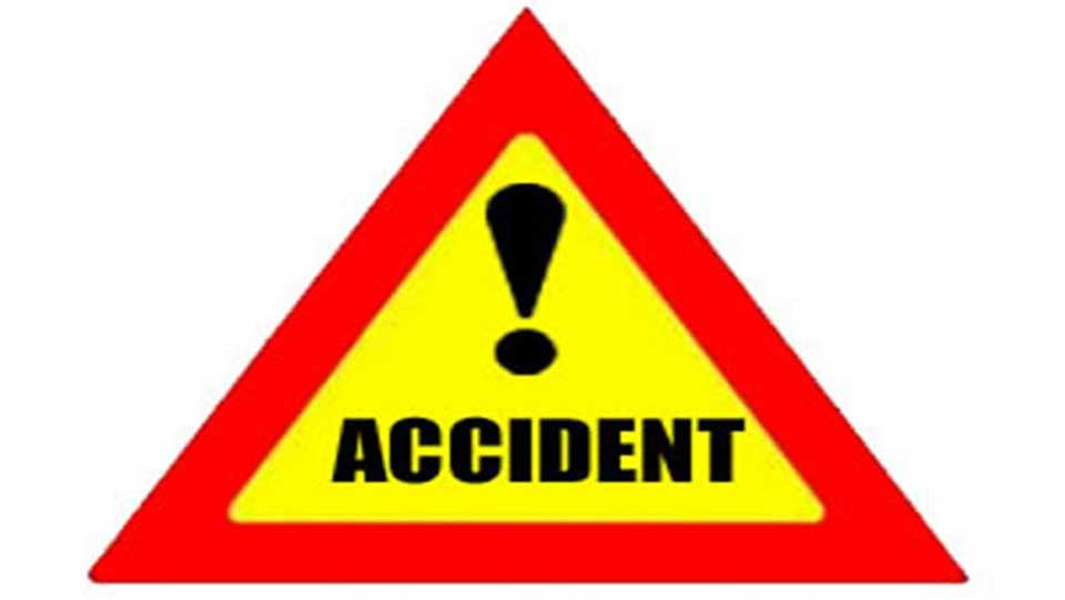 One dies in accident, 15 injured